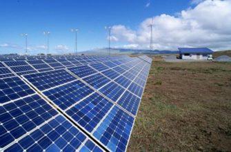 Расположение и виды солнечных панелей